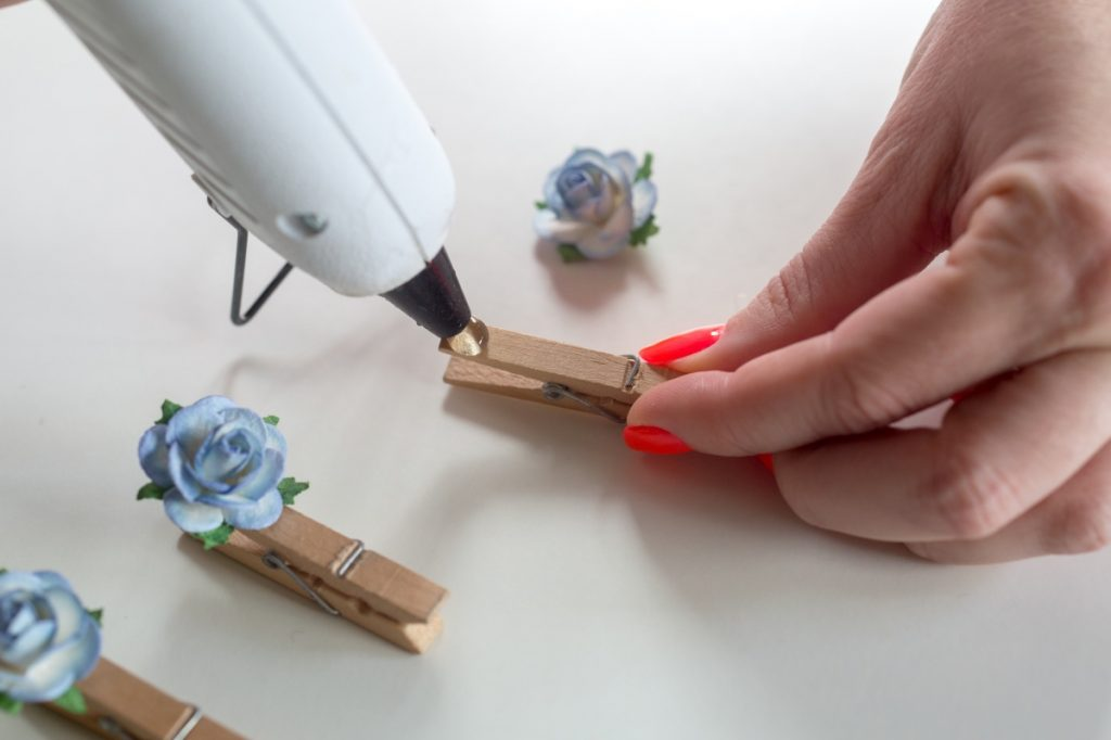 how to make pretty clothespins with flowers pop shop america