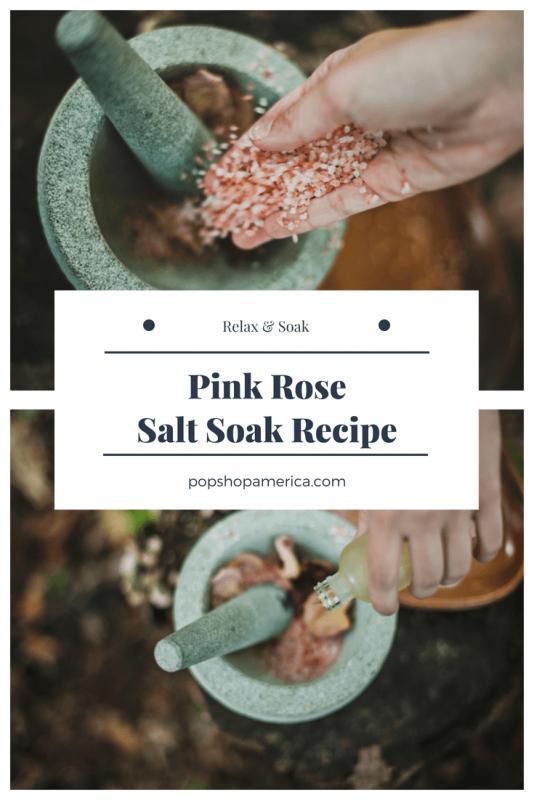 pink rose salt soak diy pop shop america feature