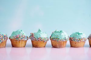 Sea Punk Cupcakes Recipe