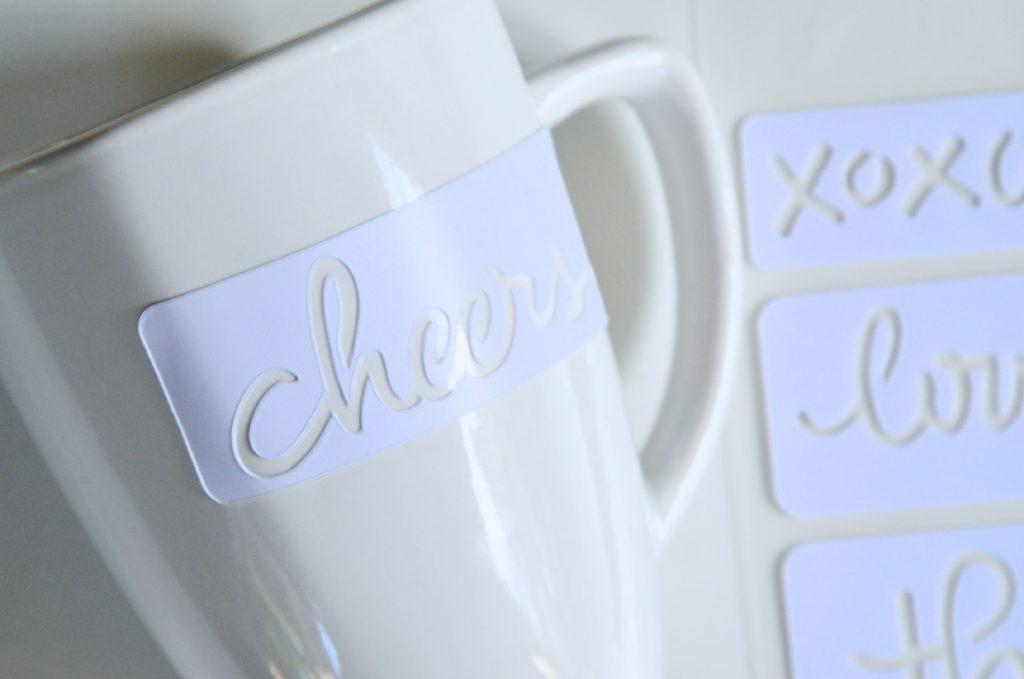 stencil to make diy sharpie coffee mugs