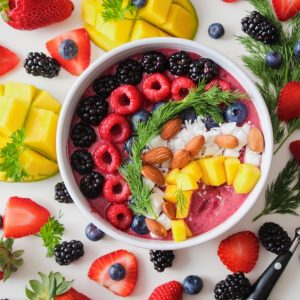 homemade rainbow pitaya smoothie bowl recipe pop shop america