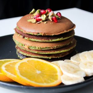 matcha green tea pancakes pop shop america food blog