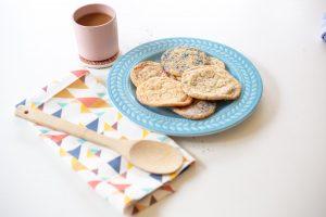 Rainbow Glitter Sugar Cookies Recipe
