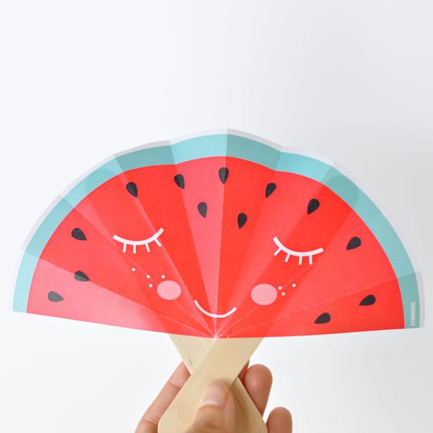 2-Summer-fruit-paper-fans-free-printable