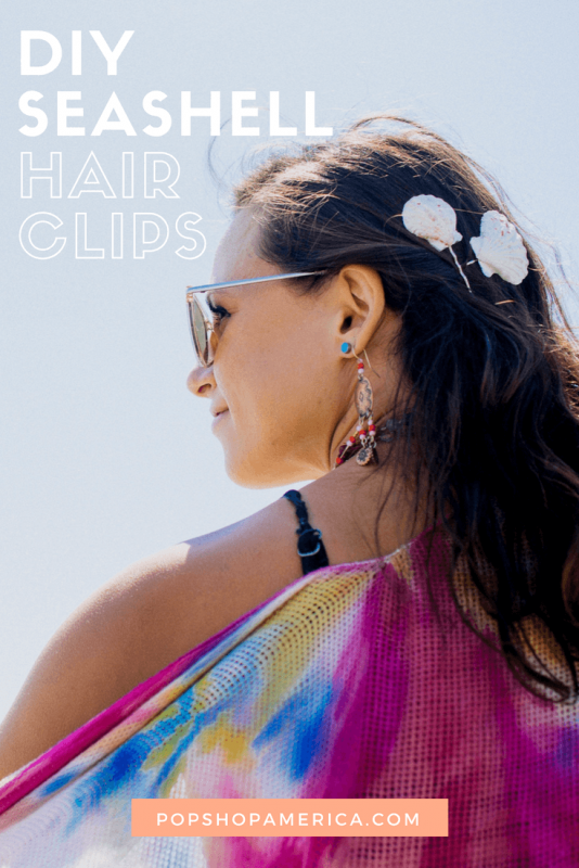 diy seashell hair clips feature pop shop america