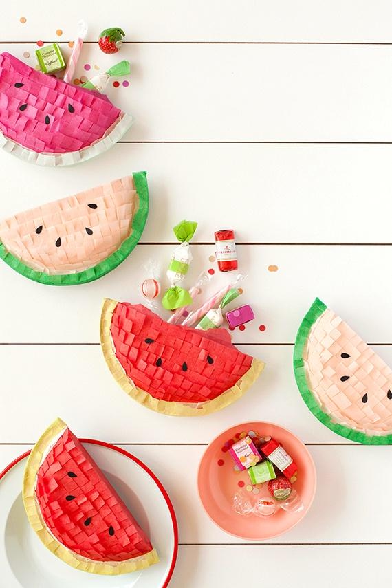 diy watermelon pinatas pop shop america