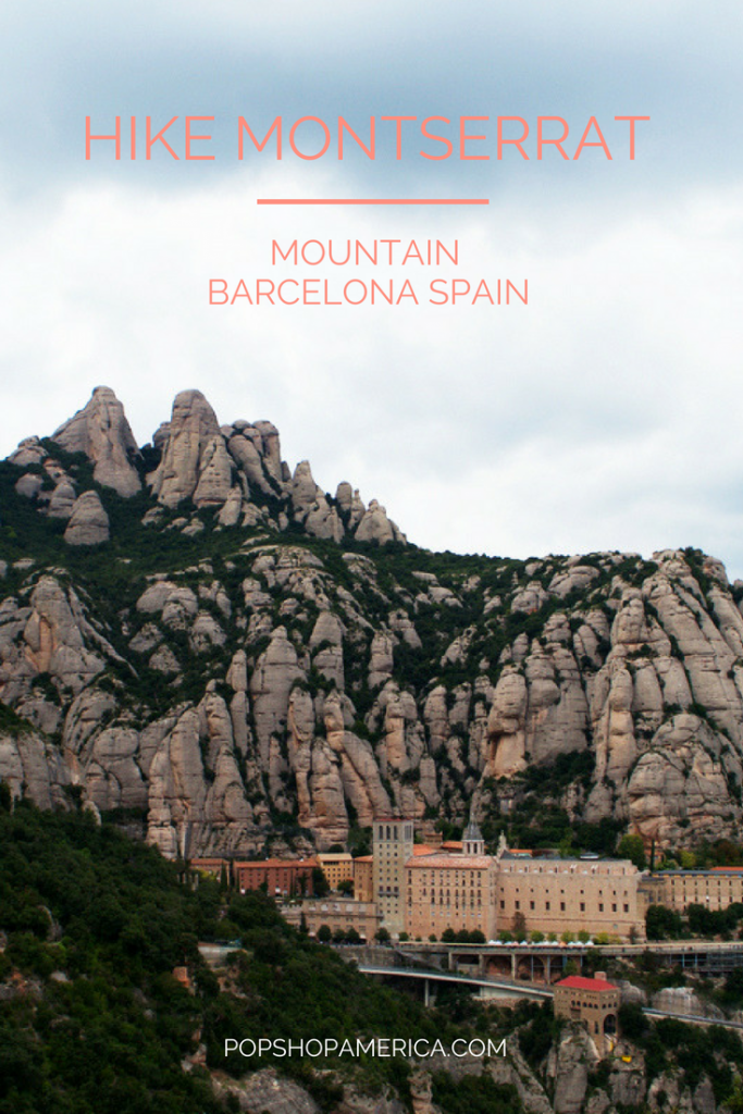 how to hike montserrat mountain barcelona spain
