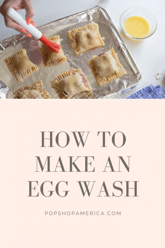 how to make an egg wash pop shop america