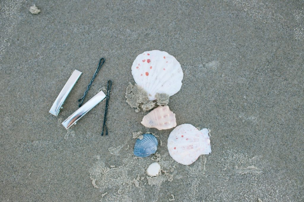 supplies to make diy seashell hair clips pop shop america