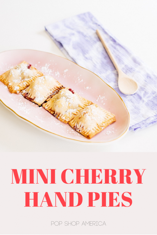 How to Make Mini Cherry Hand Pies Pop Shop America