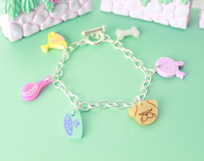 I Love Crafty Best In Show Charm Bracelet