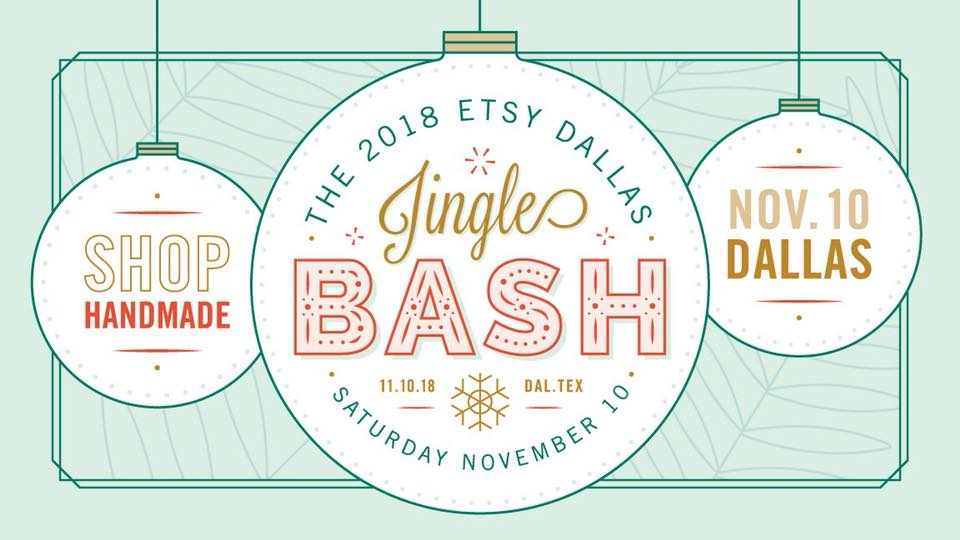 etsy dallas jingle bash 2018 pop shop america