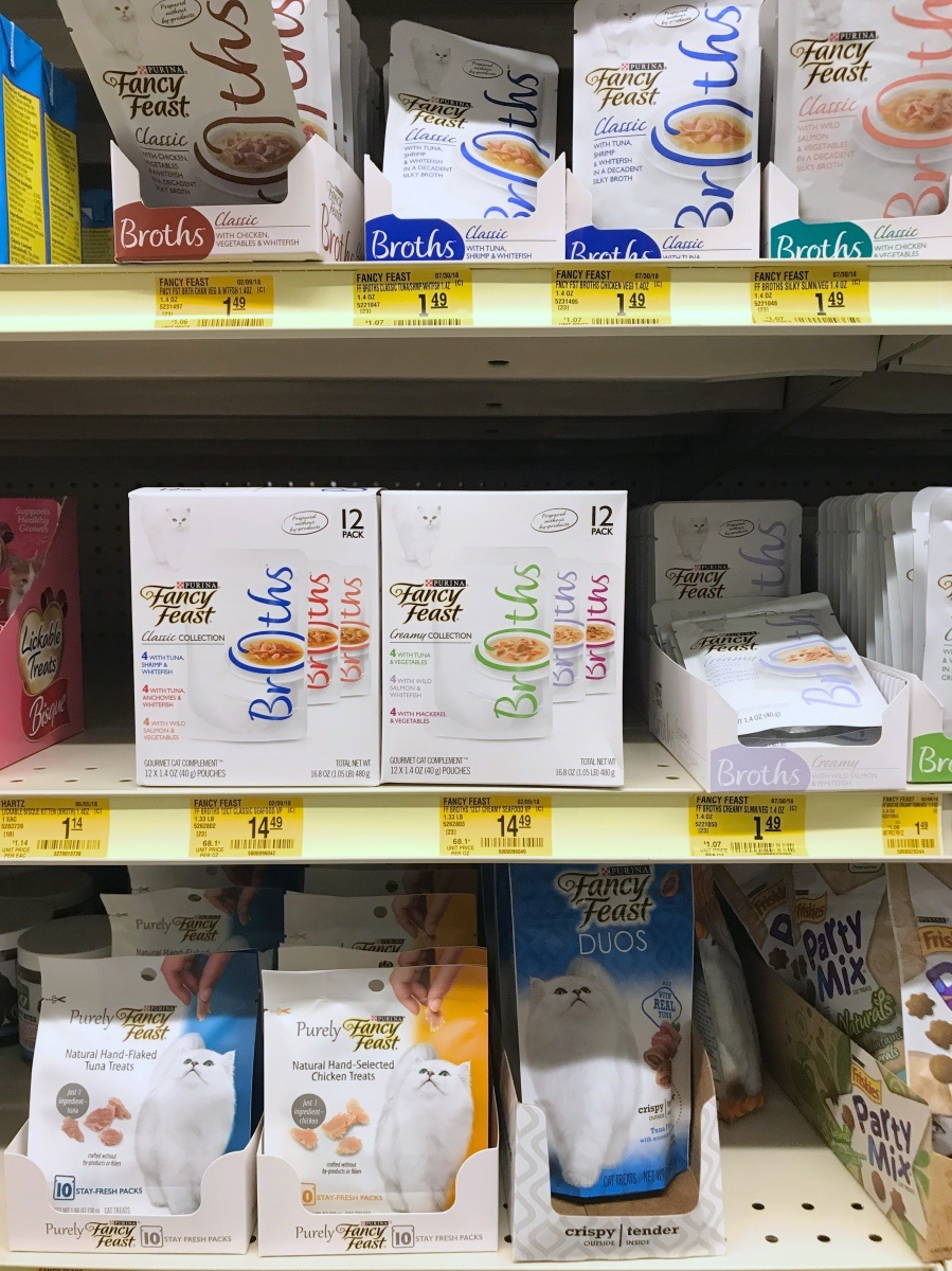 treats in the fancy feast isle pop shop america