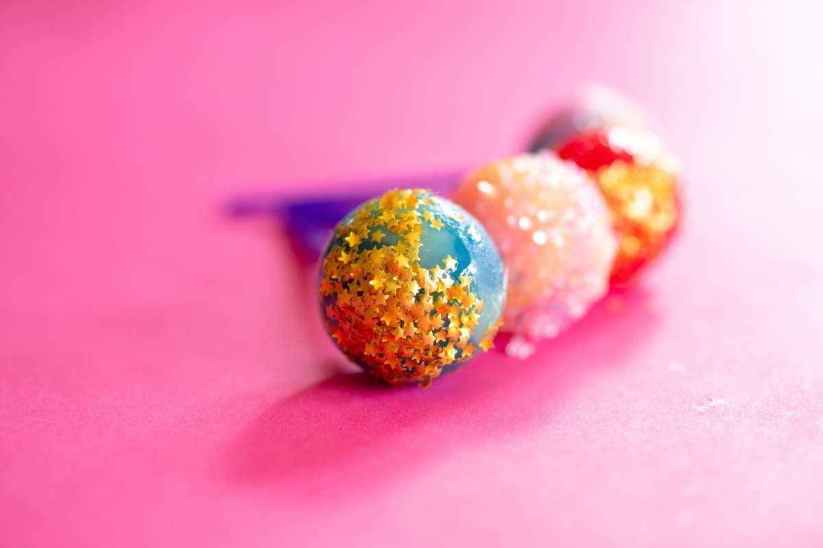finished edible glitter lollipops diy pop shop america