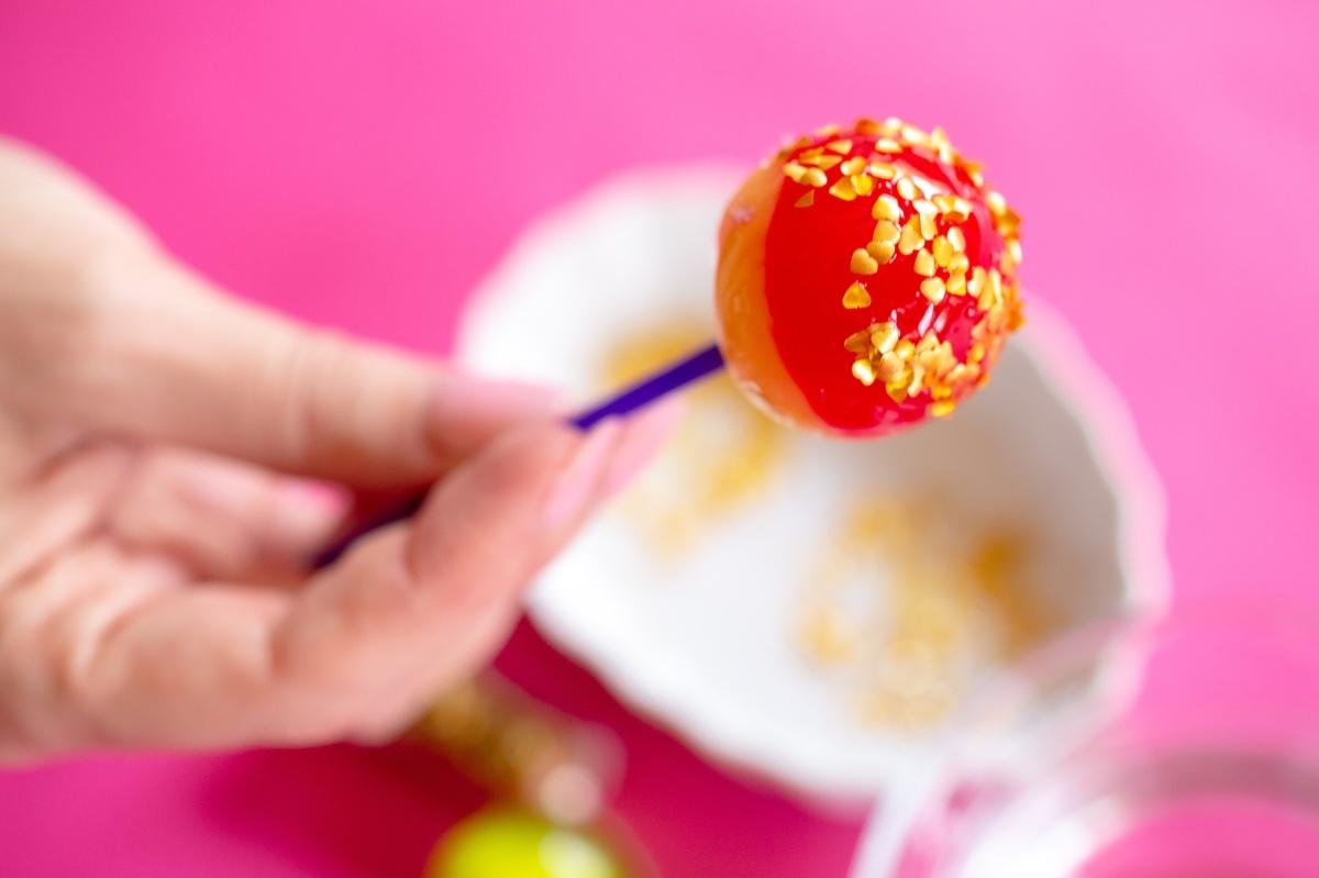 heart glitter lollipop diy pop shop america crafts