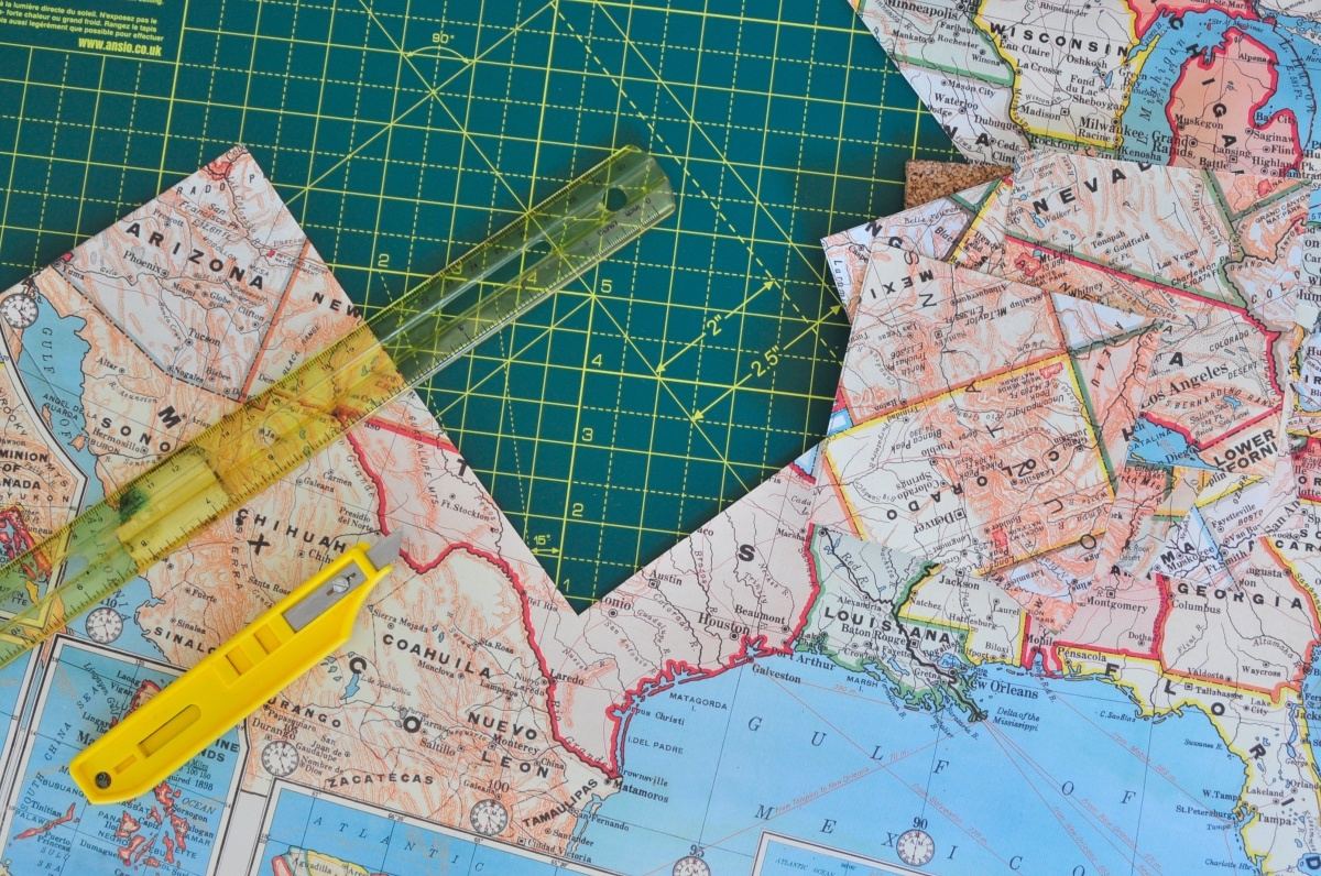 supplies to make diy map cocktail stirrers pop shop america