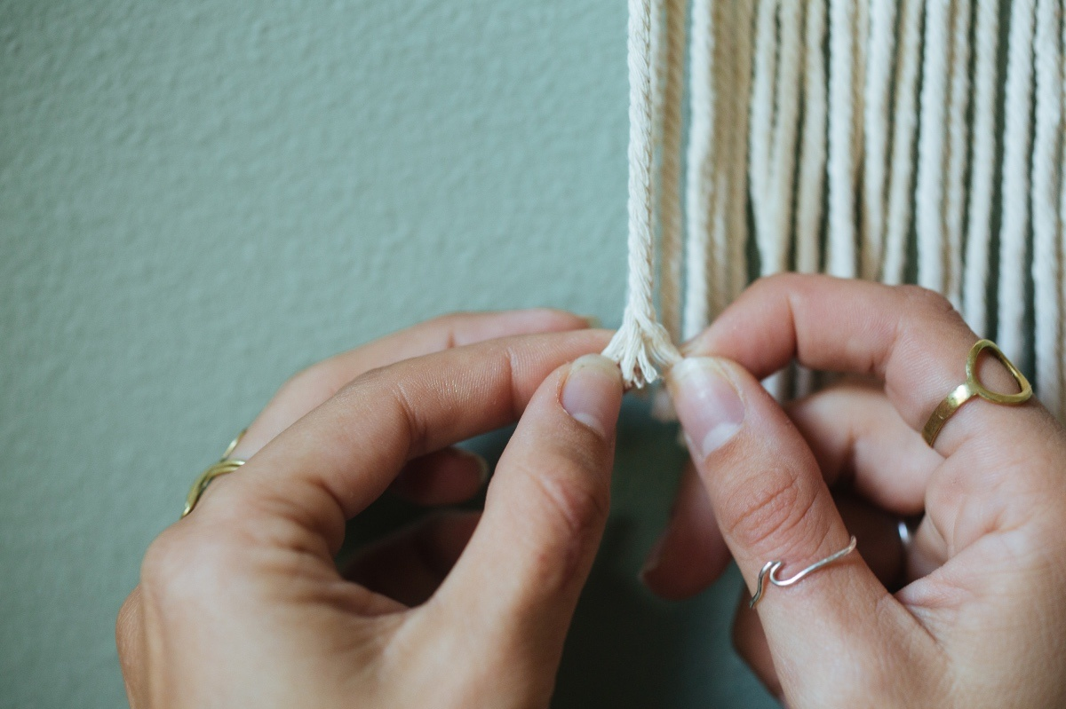unravel the rope diy macrame tutorial pop shop america