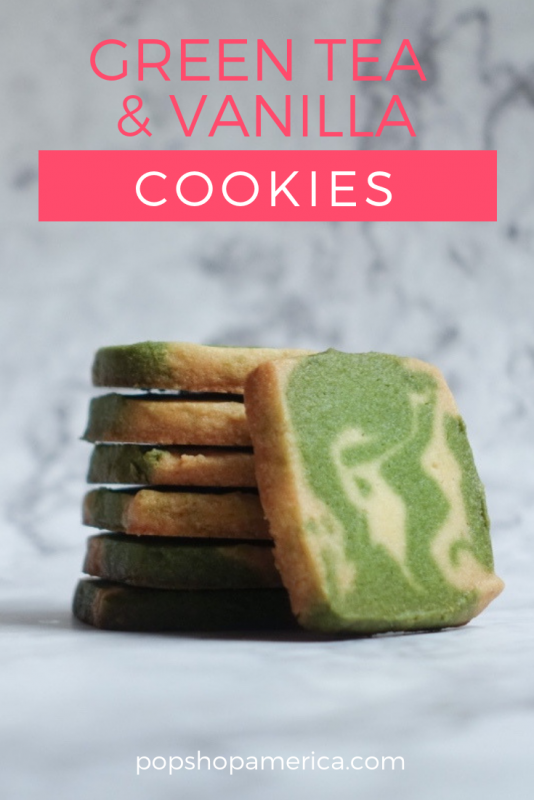 green tea cookies pop shop america