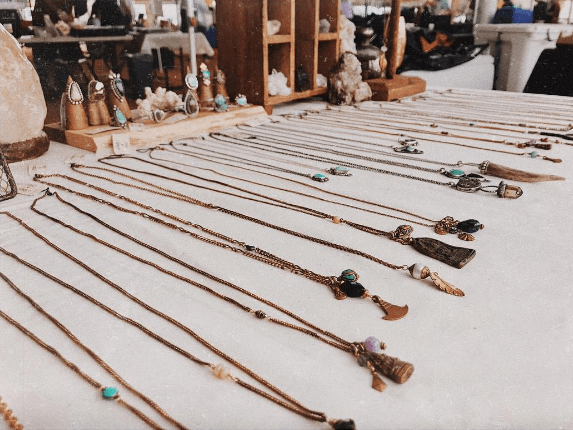 sage and opal jewelry in austin pop shop america