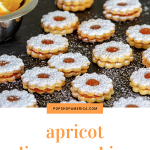apricot linzer cookies pop shop america