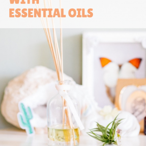 diy reed diffuser with essential oils craft tutorial pop shop america