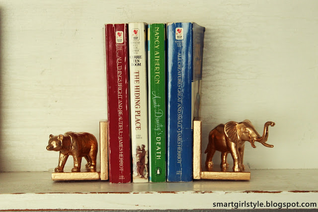 animal_bookends diy pop shop america