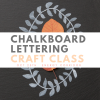chalkboard lettering craft class houston pop shop america
