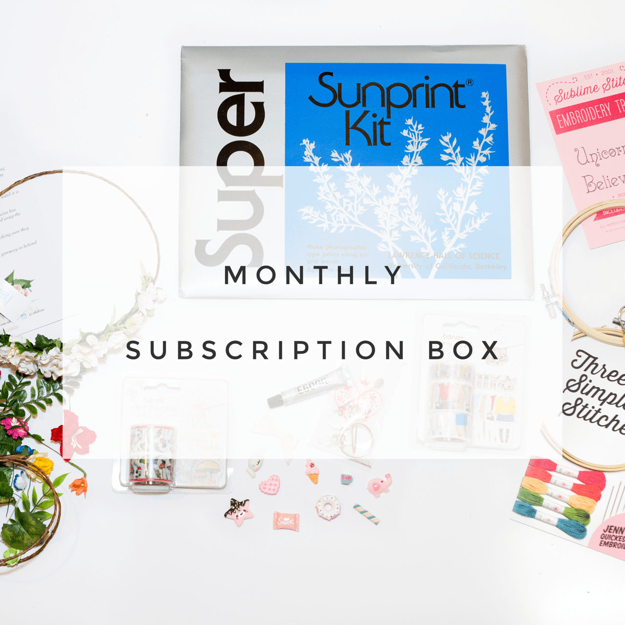 Craft in Style Subscription Box - Monthly Craft Supplies