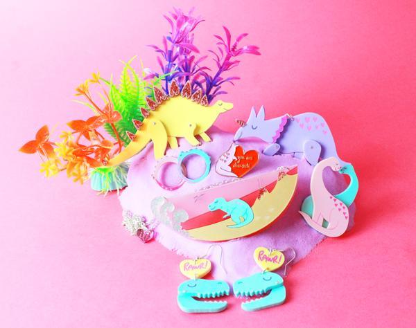 dino jewelry by i love crafty uk pop shop america