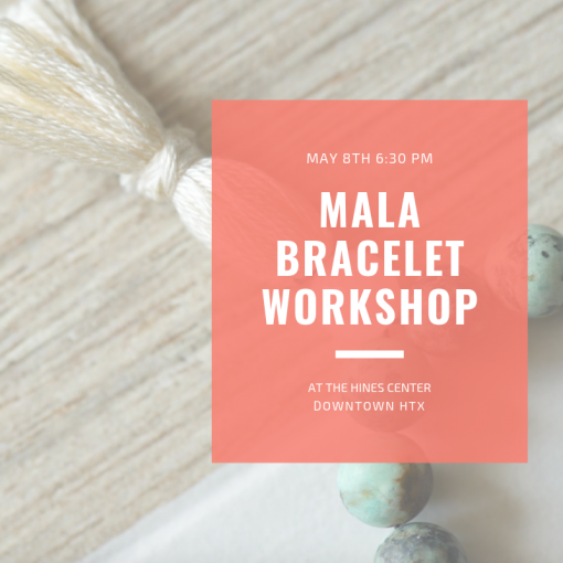 mala bracelet workshop houston pop shop america