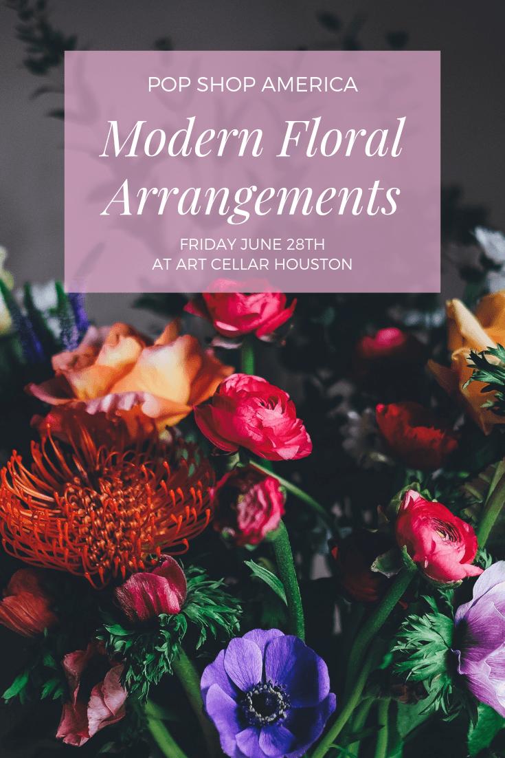 modern floral arrangements pop shop america craft classes