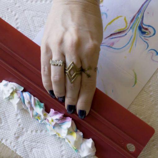 remove-shaving-cream-diy-stationery-marbling-craft-tuturial_squarej