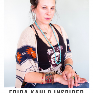 frida kahlo inspired flower crown diy featured pop shop america craft
