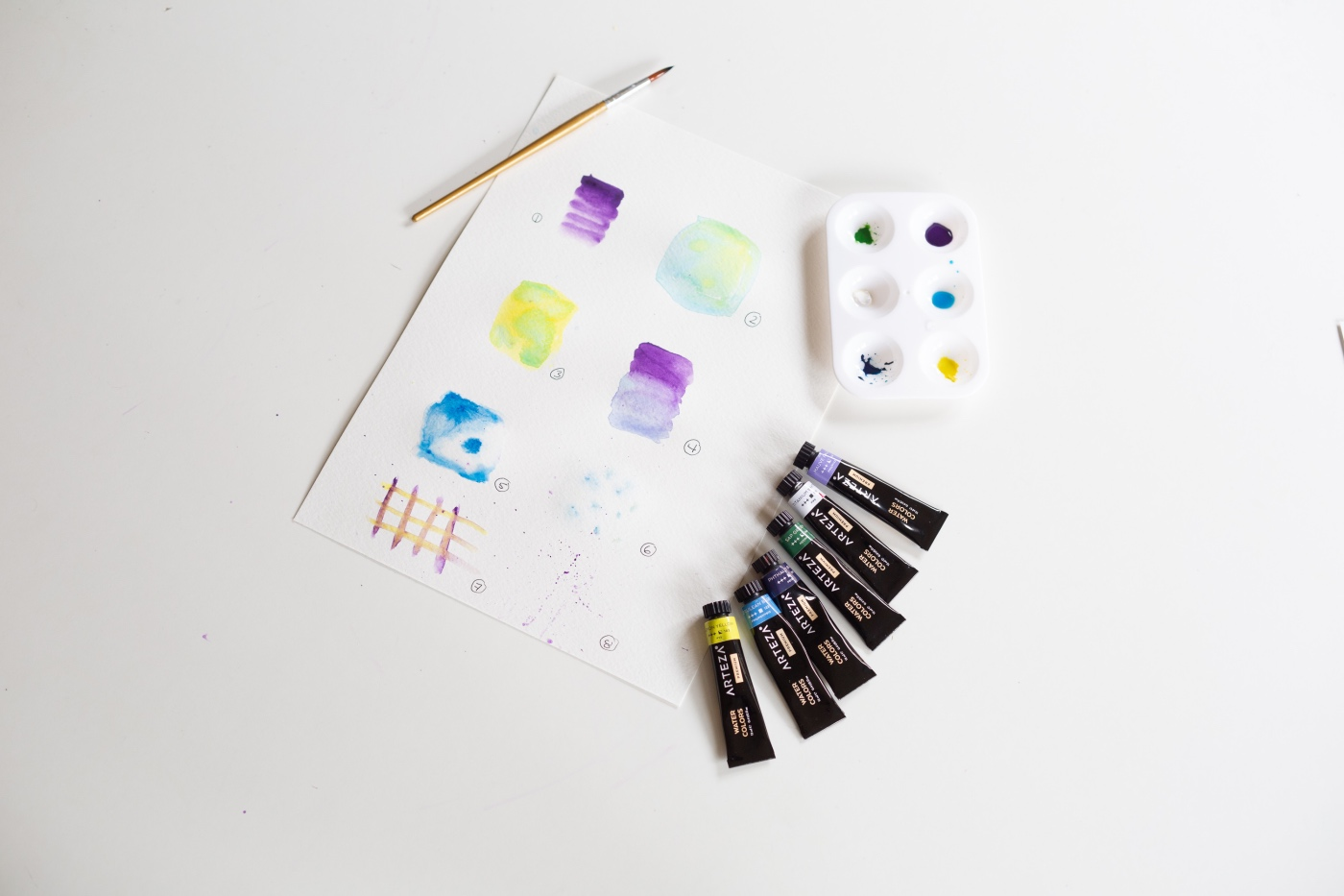 learn how to paint with watercolor easy guide by pop shop america