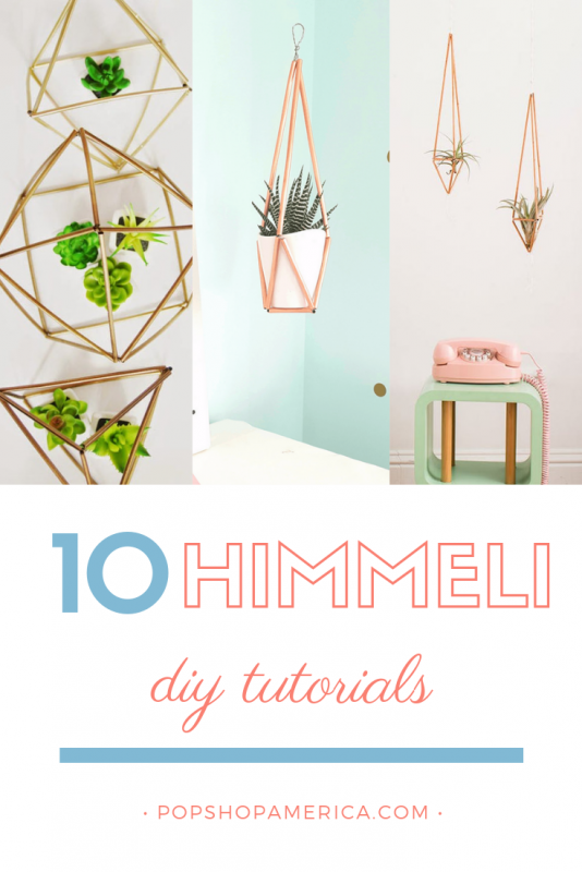 10 diy himmeli tutorials pop shop america