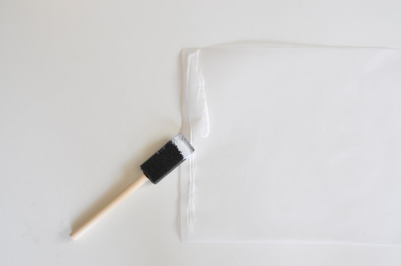 add a bit of glue to the vellum to make a paper lamp pop shop america