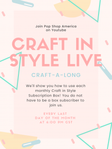craft in style live craft a long pop shop america