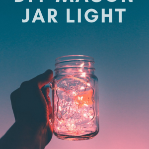 diy mason jar light pop shop america