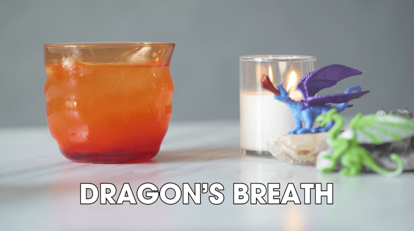 dragon's breath whiskey game of thrones cocktail pop shop america