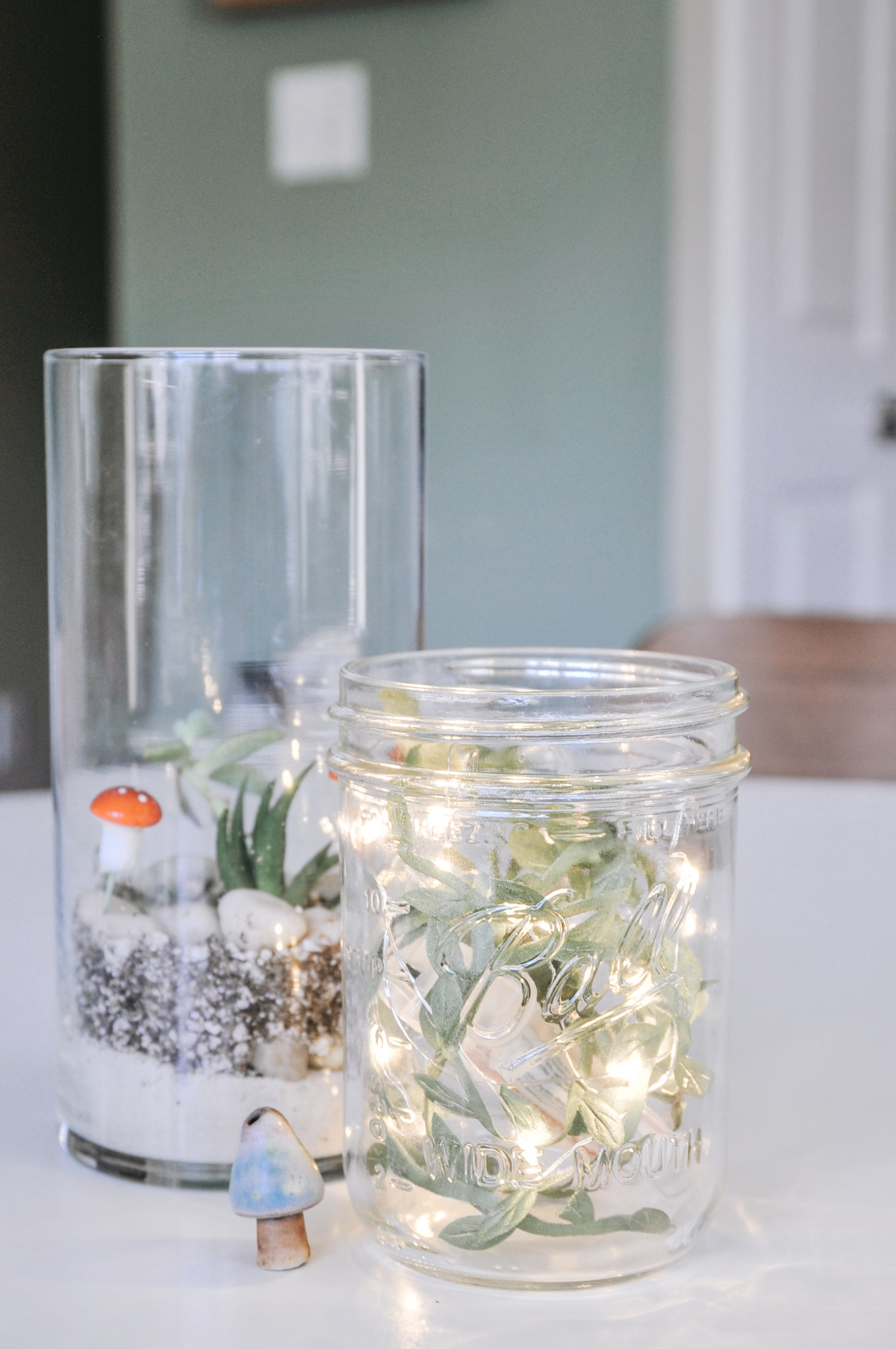 finished ivy mason jar light diy pop shop america