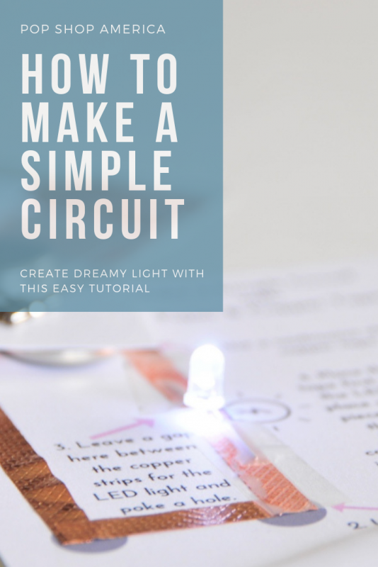 how to make a simple circuit diy feature pop shop america
