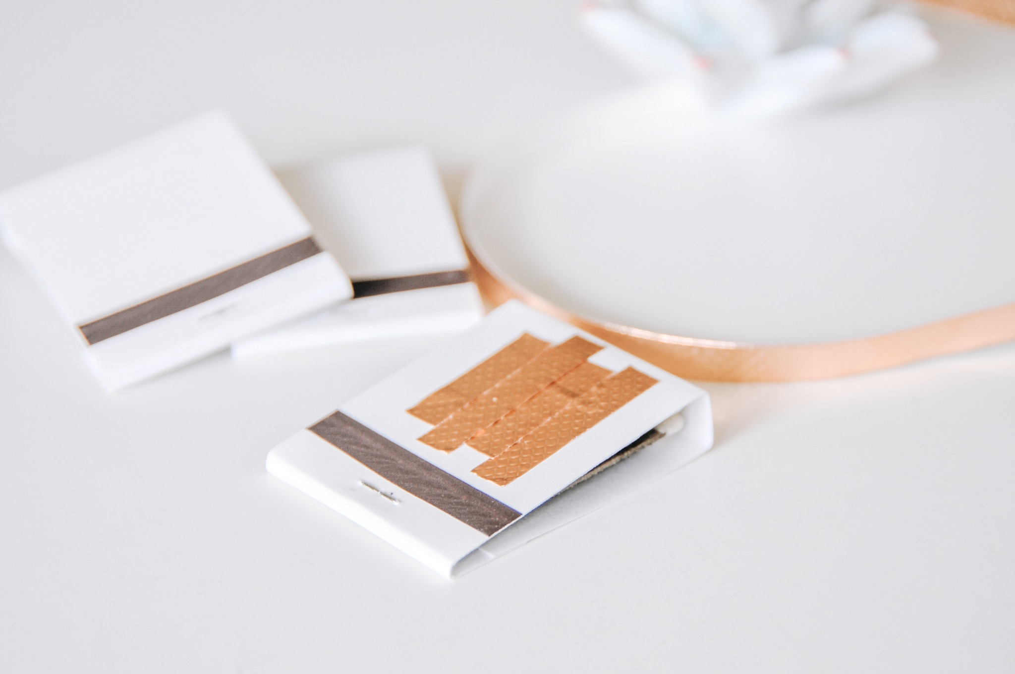 make your own copper tape matchbooks pop shop america
