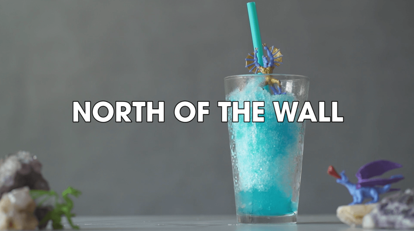 north of the wall frozen rum cocktail recipe game of thrones