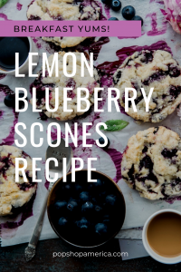 recipe for lemon blueberry scones pop shop america food blog