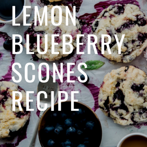recipe for lemon blueberry scones pop shop america food blog