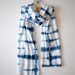 shibori-indigo-DIY-scarf-alice and lois blog