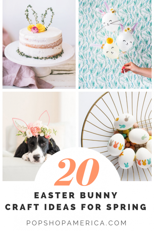 20 Adorable Easter Bunny Craft Ideas