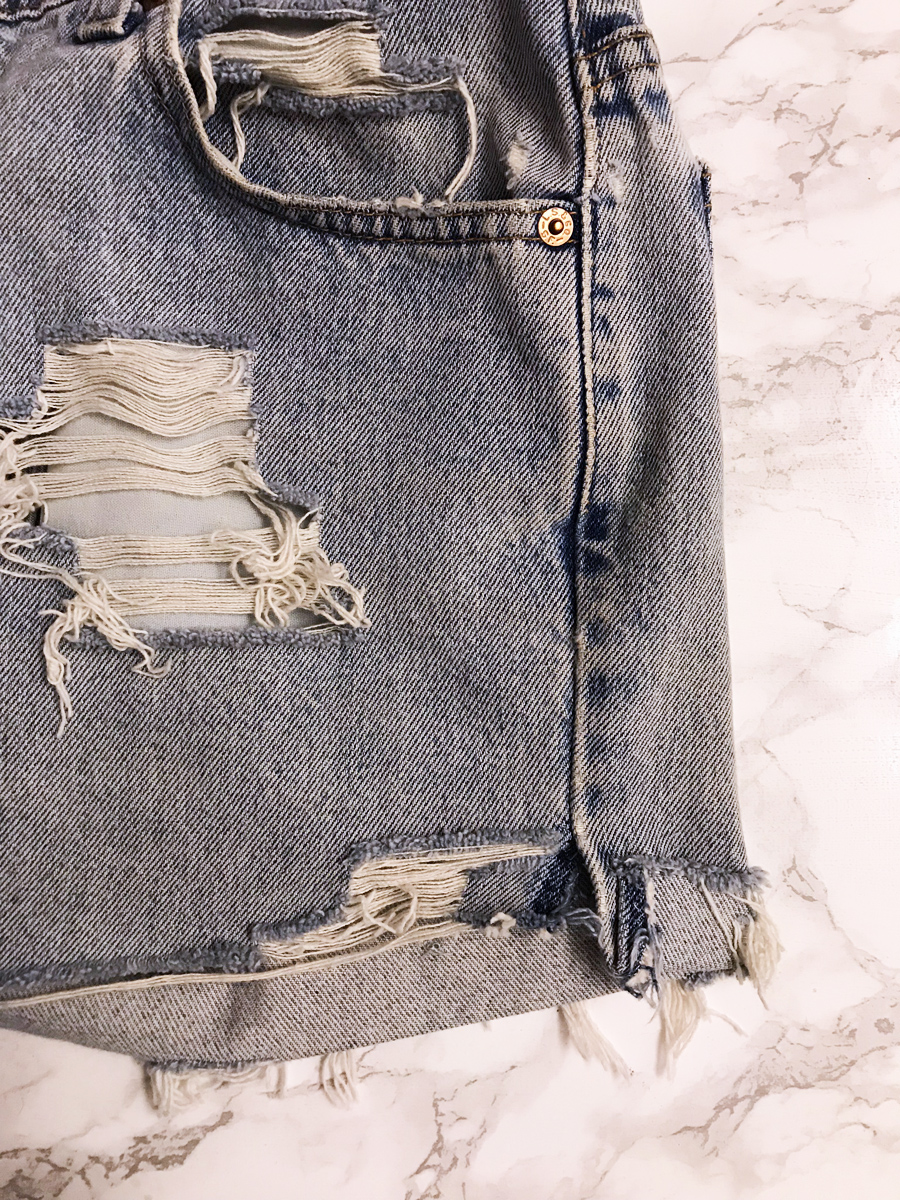 Denim Hemming DIY