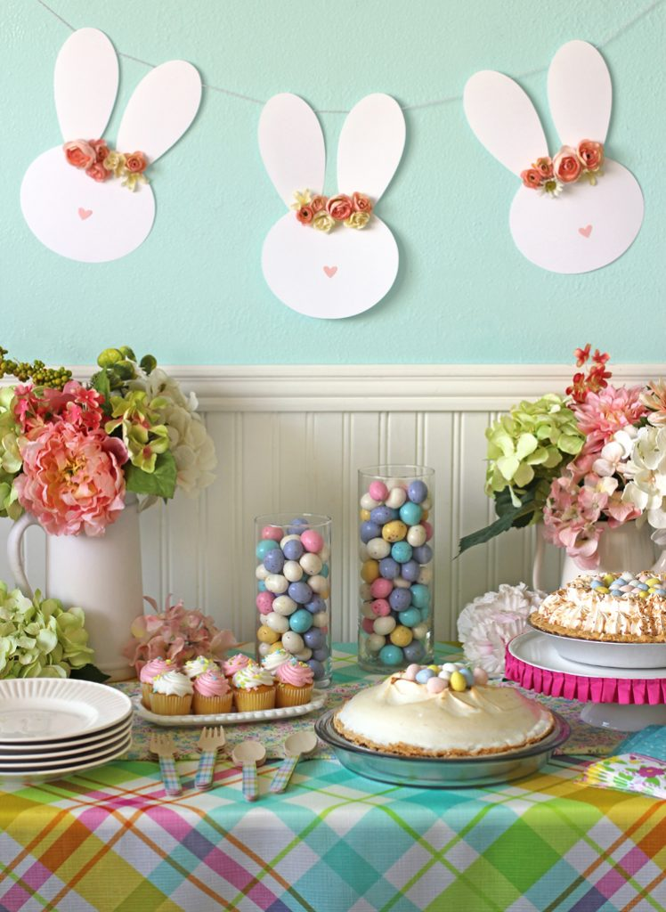 easter bunny diy garland pop shop america craft blog