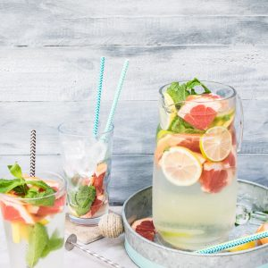 grapefruit and mint spa water recipe square pop shop america
